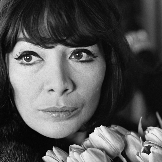 Because in my head somehow Easter equals Juliette Gréco...